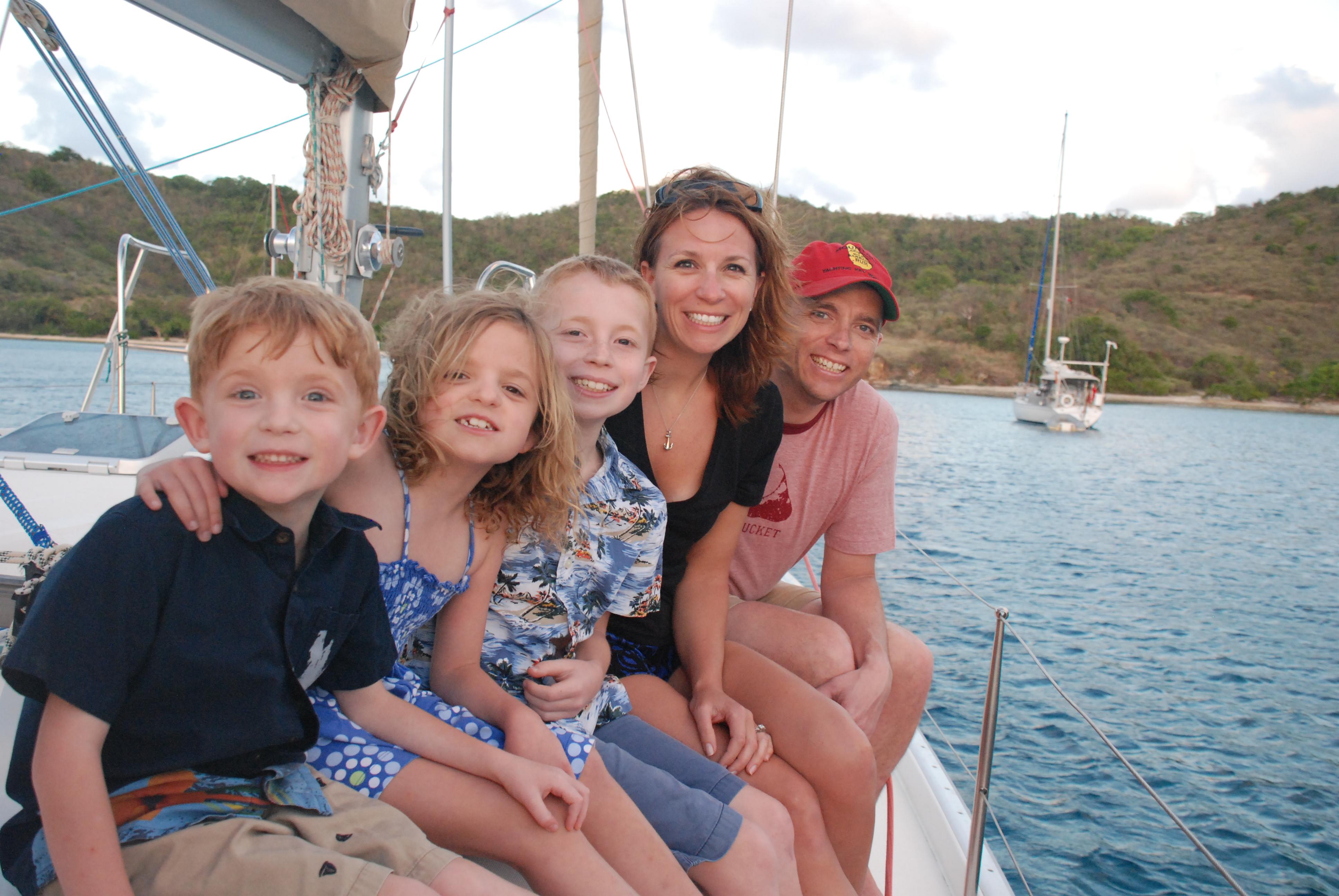Lesbian ocean sailing